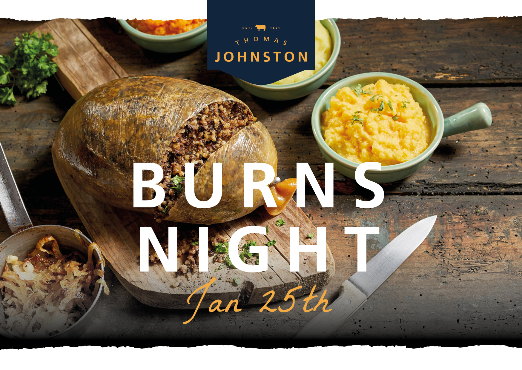 Burns Night – 25th January