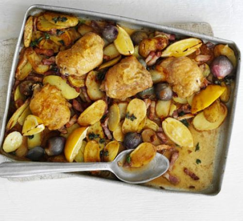 Lemon & Oregano Chicken Traybake