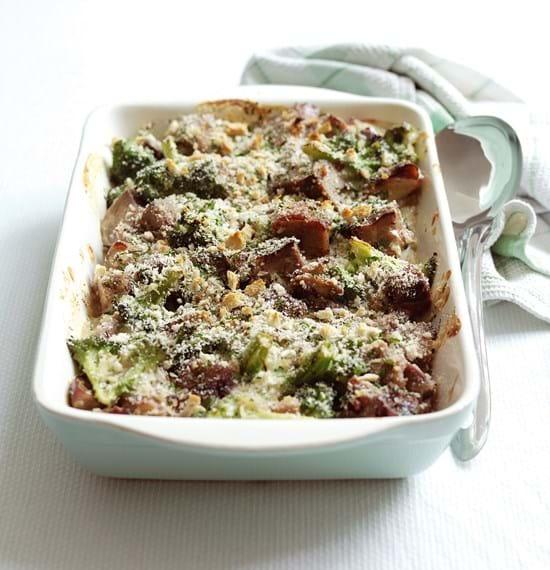 Lamb and Broccoli Bake