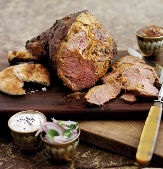 Madras Style Roast Lamb